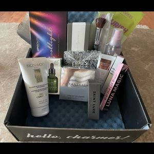 Boxycharm 13 piece makeup and skincare bundle NWT
